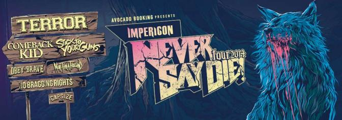 Never Say Die! Tour 2014