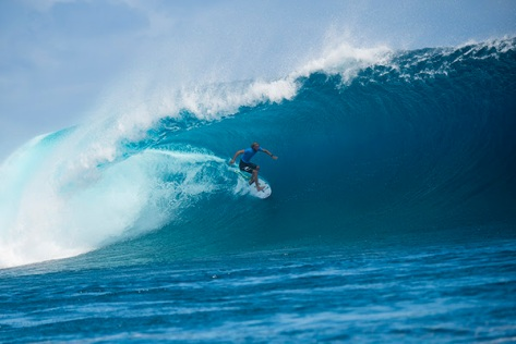 Owen Wright winning the Fiji Pro with a Perfect 20.00