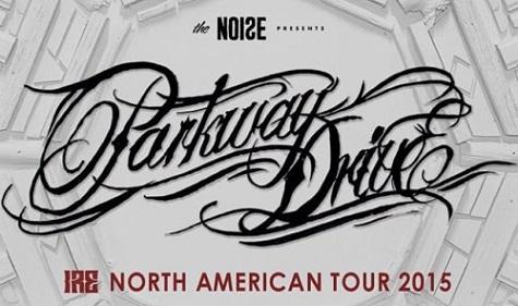 Parkway Drive – IRE Nordamerika Tour