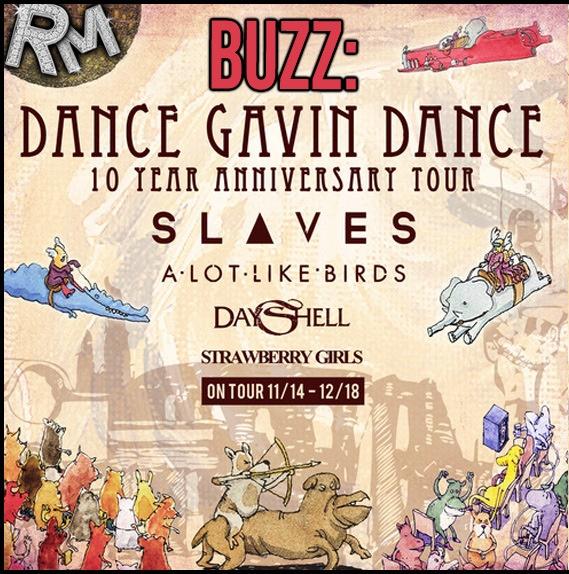 Dance Gavin Dance – 10 Year Anniversary Tour