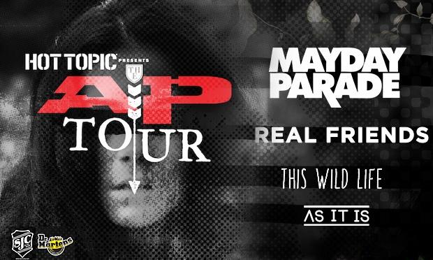 Mayday Parade – AP Tour