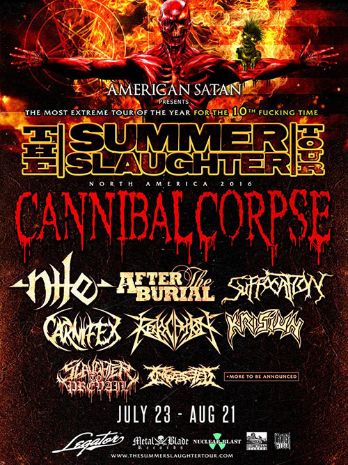 Summer Slaughter Tour 2016