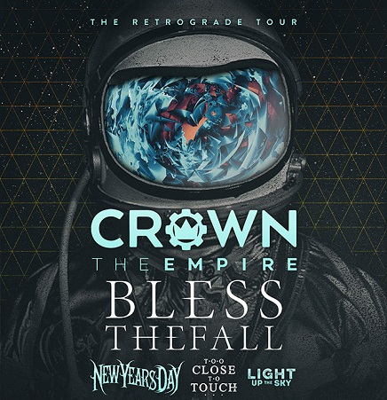 Crown The Empire – The Retrograde Tour 2016