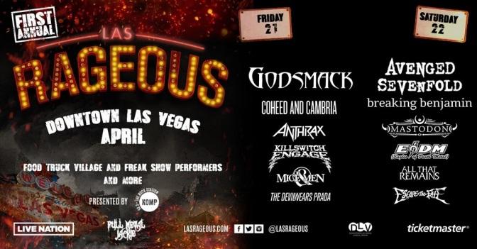 """""""Las Rageous"""" Metal Festival zum ersten mal in Las Vegas"""