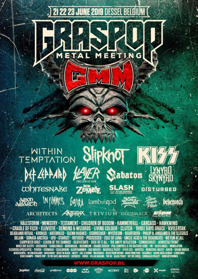 Graspop Metal Meeting 2019 mit Slipknot, Kiss und Within Temptation