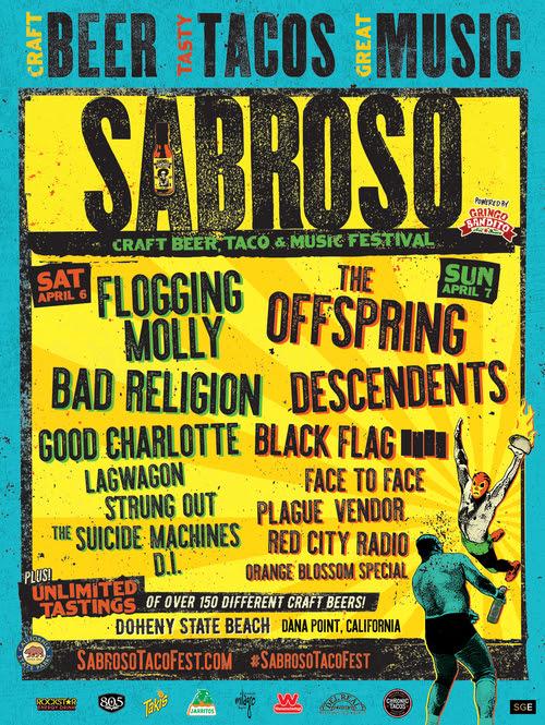 Sabroso Craft Beer, Taco & Music Festival 2019