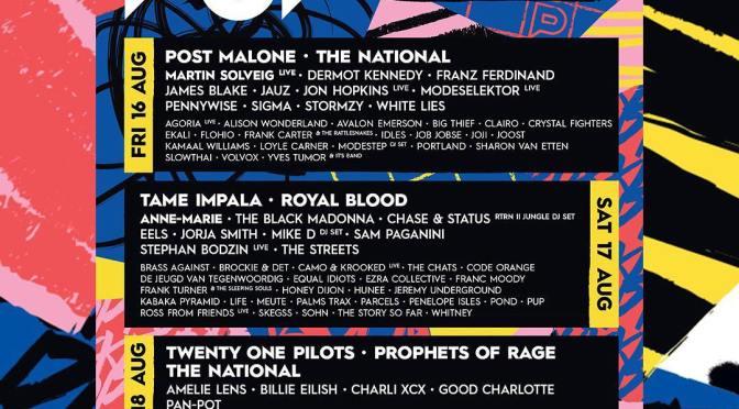 Pukkelpop 2019 mit Post Malone, Tame Impala und Twenty One Pilots