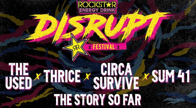 Rockstar Energy verkündet Disrupt Festival Tour