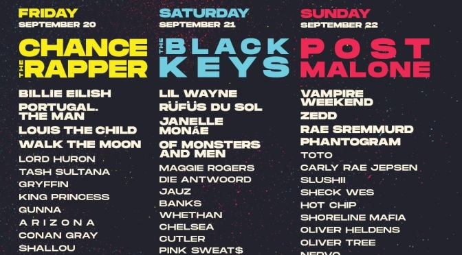 Life Is Beautiful mit Chance The Rapper, Post Malone und The Black Keys