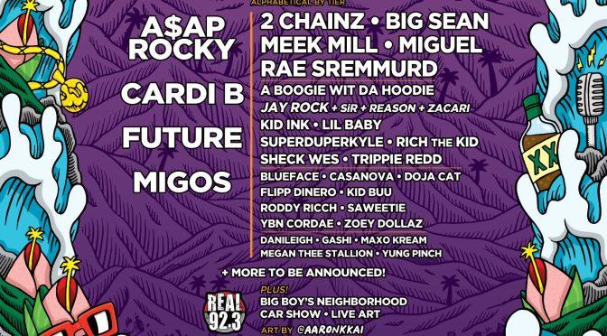 Cardi B ist für das REAL Street Festival mit A$AP Rocky, Future und Migos bestätigt