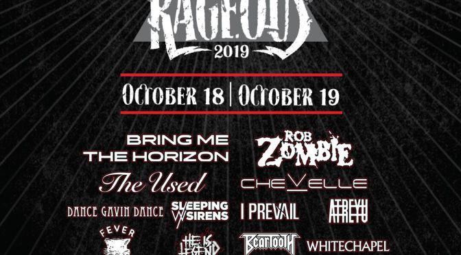 Las Rageous kehrt zurück nach Las Vegas mit Rob Zombie, Bring Me The Horizon, Chevelle und The Used