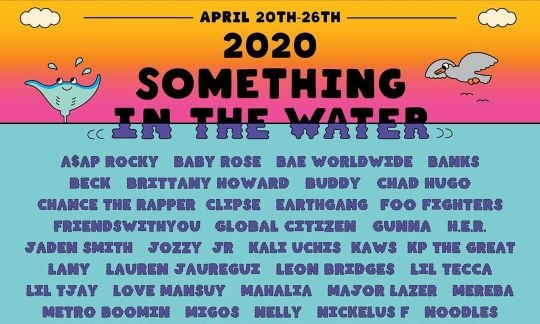 Something In The Water 2020 mit Foo Fighters, Post Malone und Chance The Rapper